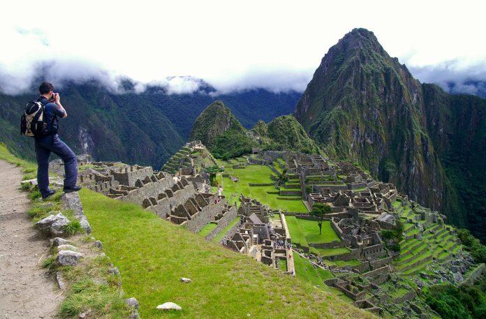 Hiker at Machu Picchu
