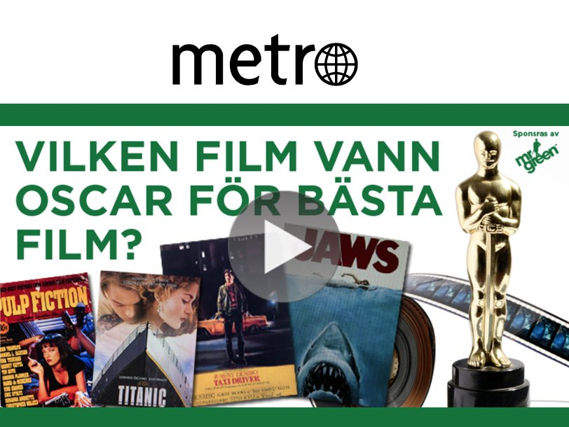 Case: Metro – native-kampanj för Mr Green