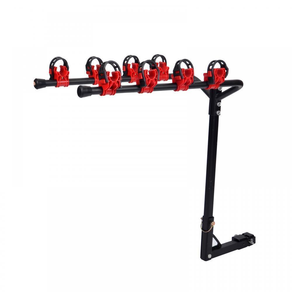 New 4 Bicycle Bike Rack 1-1/4