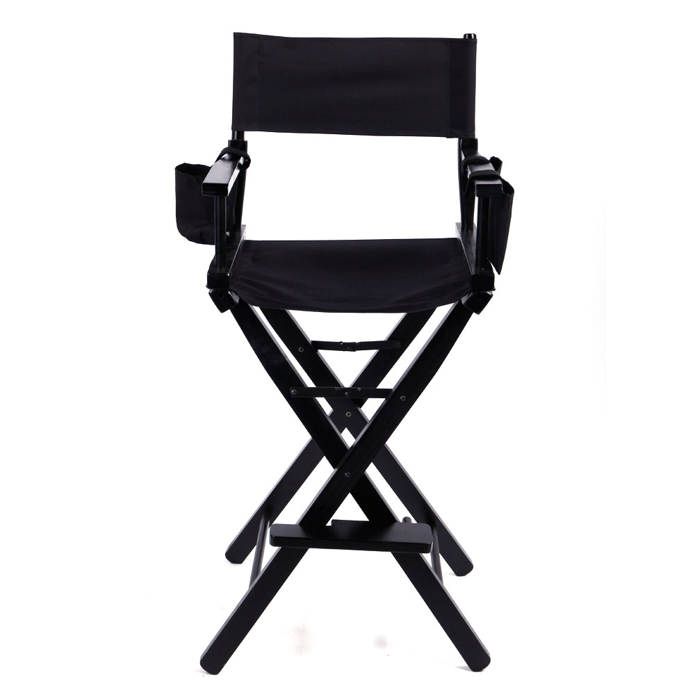 makeup chairs best gamer chair artist director s hardwood frame folding with storage bags