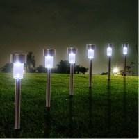 New 24PCS Outdoor Solar Power LED Garden Landscape Lights ...