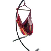 New Chair Hanging Rope Swing Hammock Outdoor Porch Patio ...