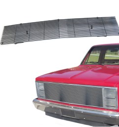 for 1981 1987 chevy gmc pickup suburban blazer jimmy chrome billet grille [ 1200 x 1200 Pixel ]