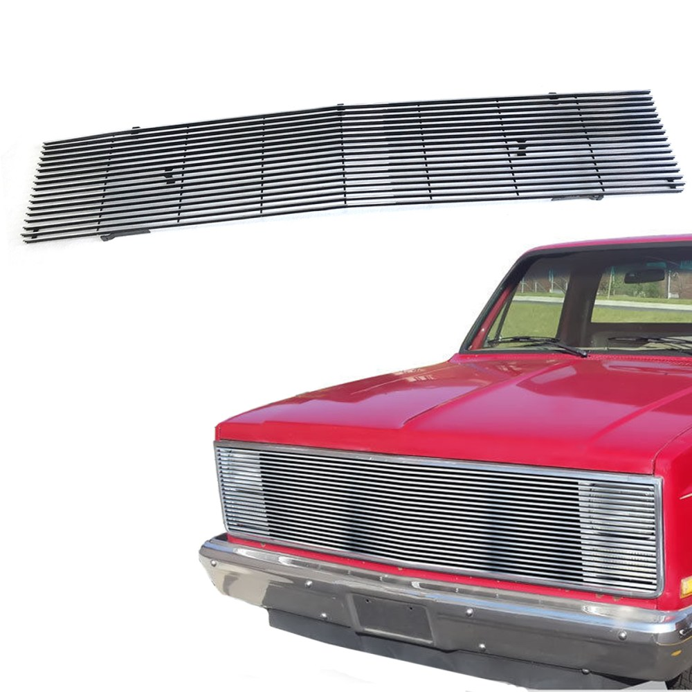 medium resolution of for 1981 1987 chevy gmc pickup suburban blazer jimmy chrome billet grille