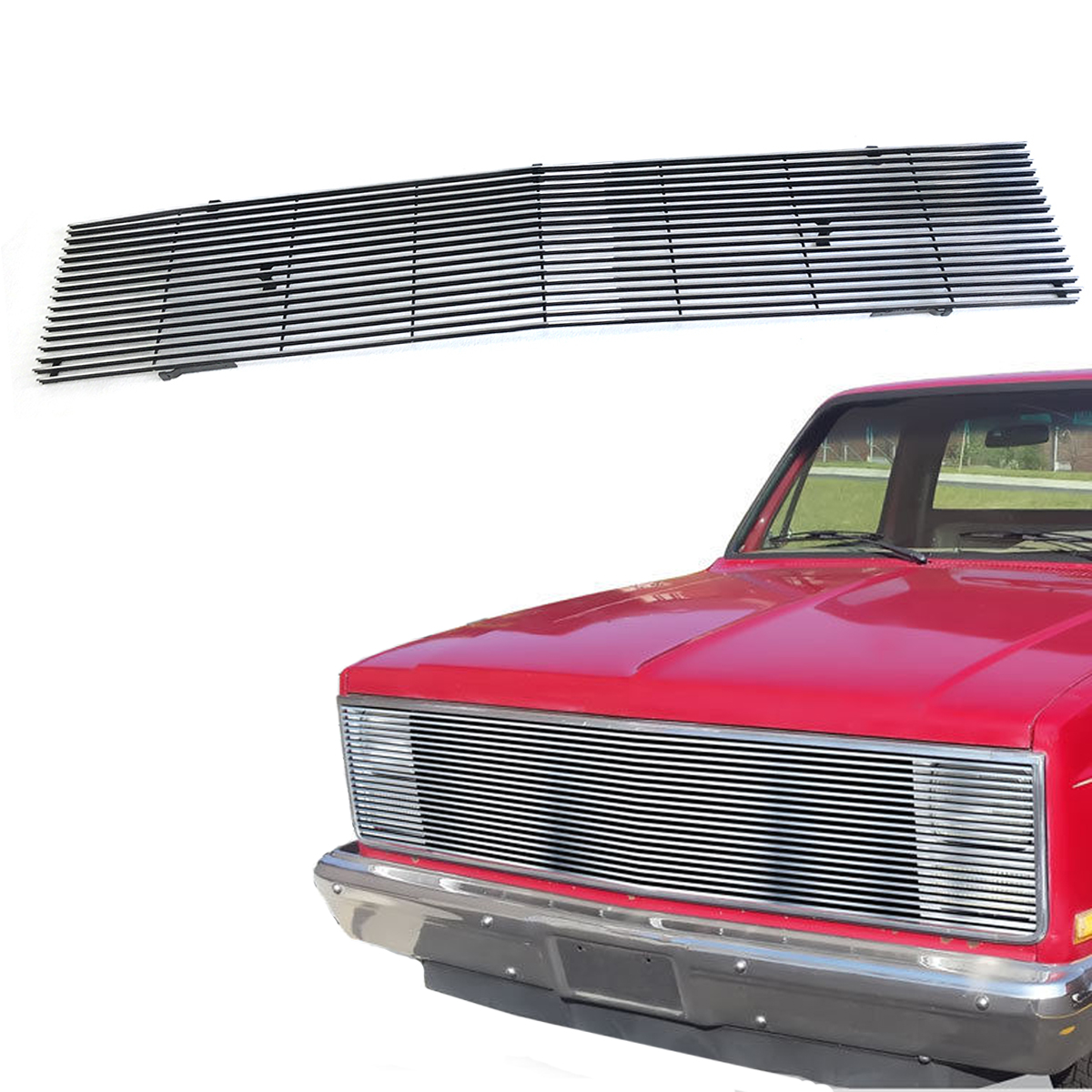 hight resolution of for 1981 1987 chevy gmc pickup suburban blazer jimmy chrome billet grille