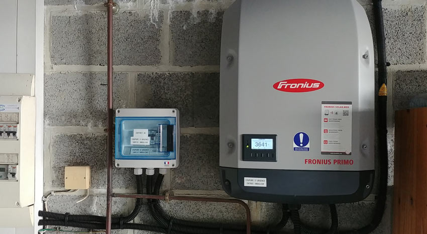 Installation compteur énergie verte