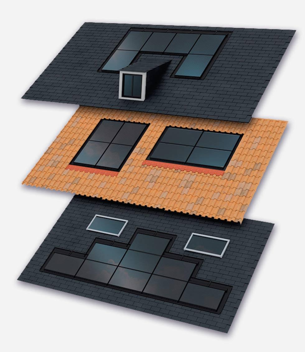 Intégration toiture panneau solaire