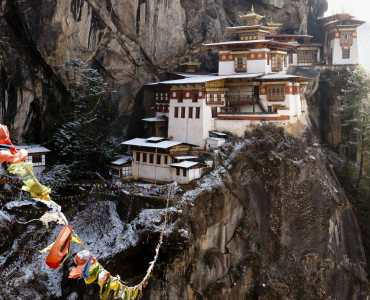 Tiger's Nest Monastery Hike, Paro, Bhutan