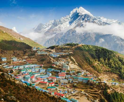 Namche Bazaar, Everest Region, Nepal, Luxury Nepal Holidays