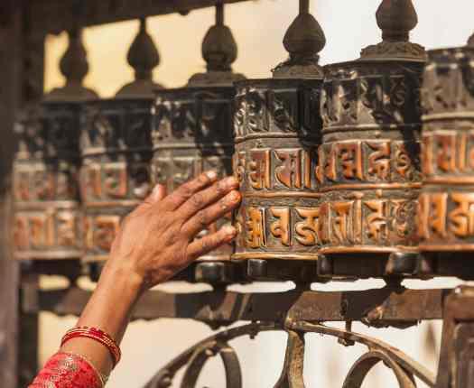 Prayer Wheels, Nepal