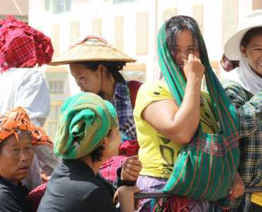 Shan Hill People, Burma
