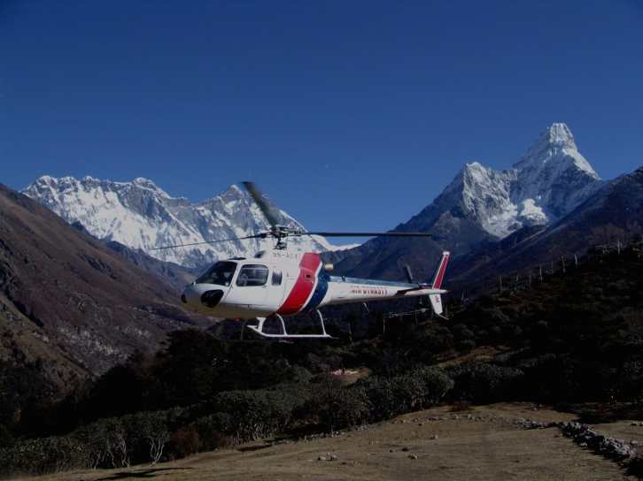 Luxury Helicopter Tour of Nepal