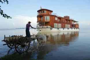 RV Paukan, Irrawaddy Cruise, Burma