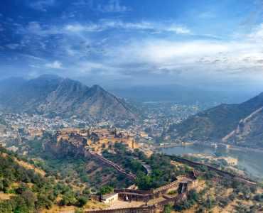 View of Jaipur, Rajasthan, India