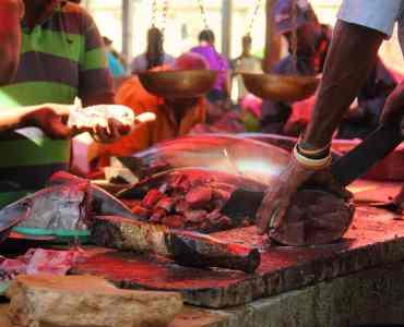 Market in Colombo, Sri Lanka