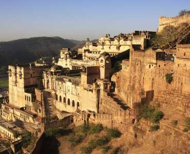 Bundi Palace, Rajasthan, India