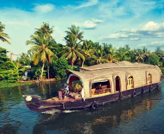 Kerala Backwaters, South India