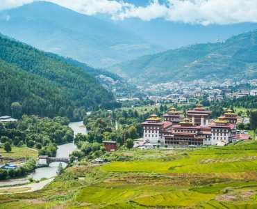 Trashi Chhoe Dzong, Thimphu, Bhutan