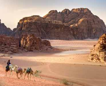 Camel Safari in Wadi Rum - Luxury Family Holiday to Jordan with Millis Potter - Wadi Rum