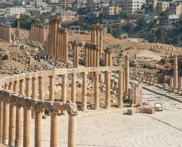 Tour of Jerash Jordan