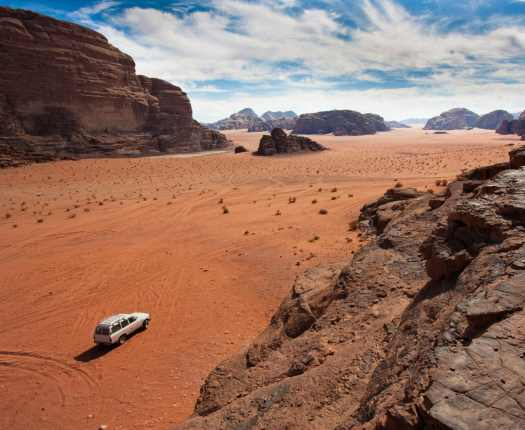 Luxury Jordan Holidays - Wadi Rum in Jordan