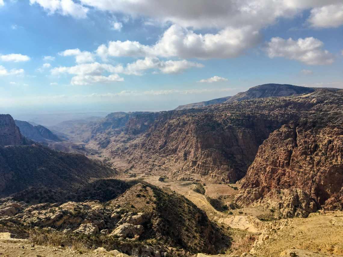 Wadi-Dana-Trail-to-Feynan - Walking Holiday in Jordan