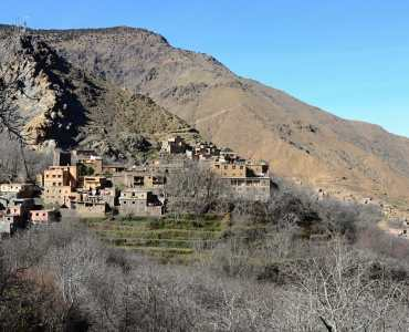 Trekking in the Atlas Mountains in Morocco