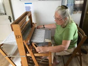 Weaving with Peggy Church