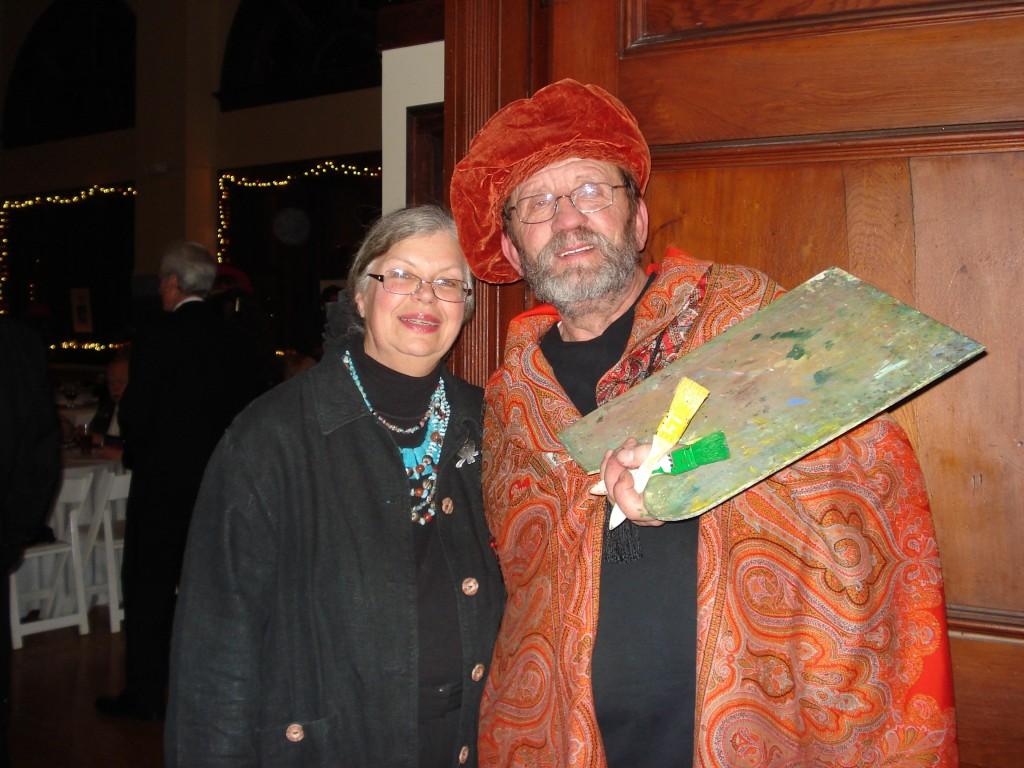 Mayor Ernie Eldridge and wife Anita.