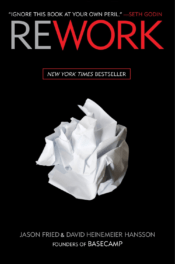 best business books - rework