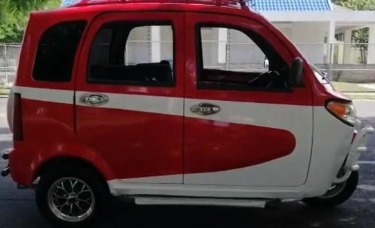 Margarita el nuevo moto-taxis tambien llega a La Vega