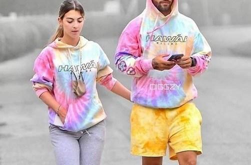 Maluma pasea junto a su nueva novia