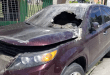 Incendian vehículo de regidor en Nagua