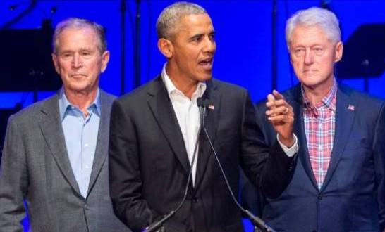 Obama, Bush y Clinton listos para vacunarse públicamente contra el COVID-19