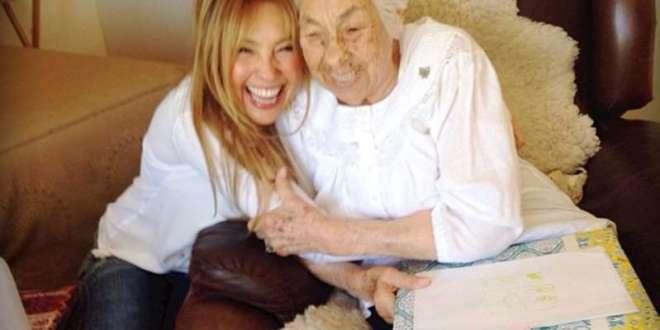 Thalía habla por primera vez de la salud de su abuelita: 'Estamos pasando una situación tremenda
