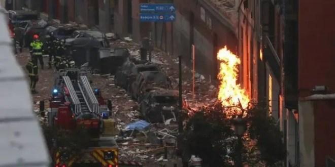 Ascienden a cuatro los muertos por explosión en el centro de Madrid