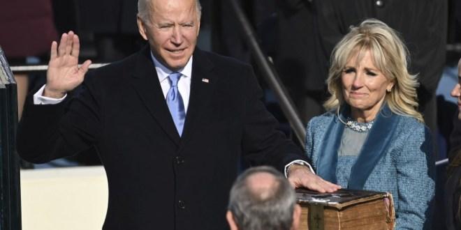 Biden asume como presidente de EEUU y hace un llamado a la reconciliación