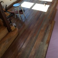Mill Pond Monday - The emergent beauty of a hardwood floor