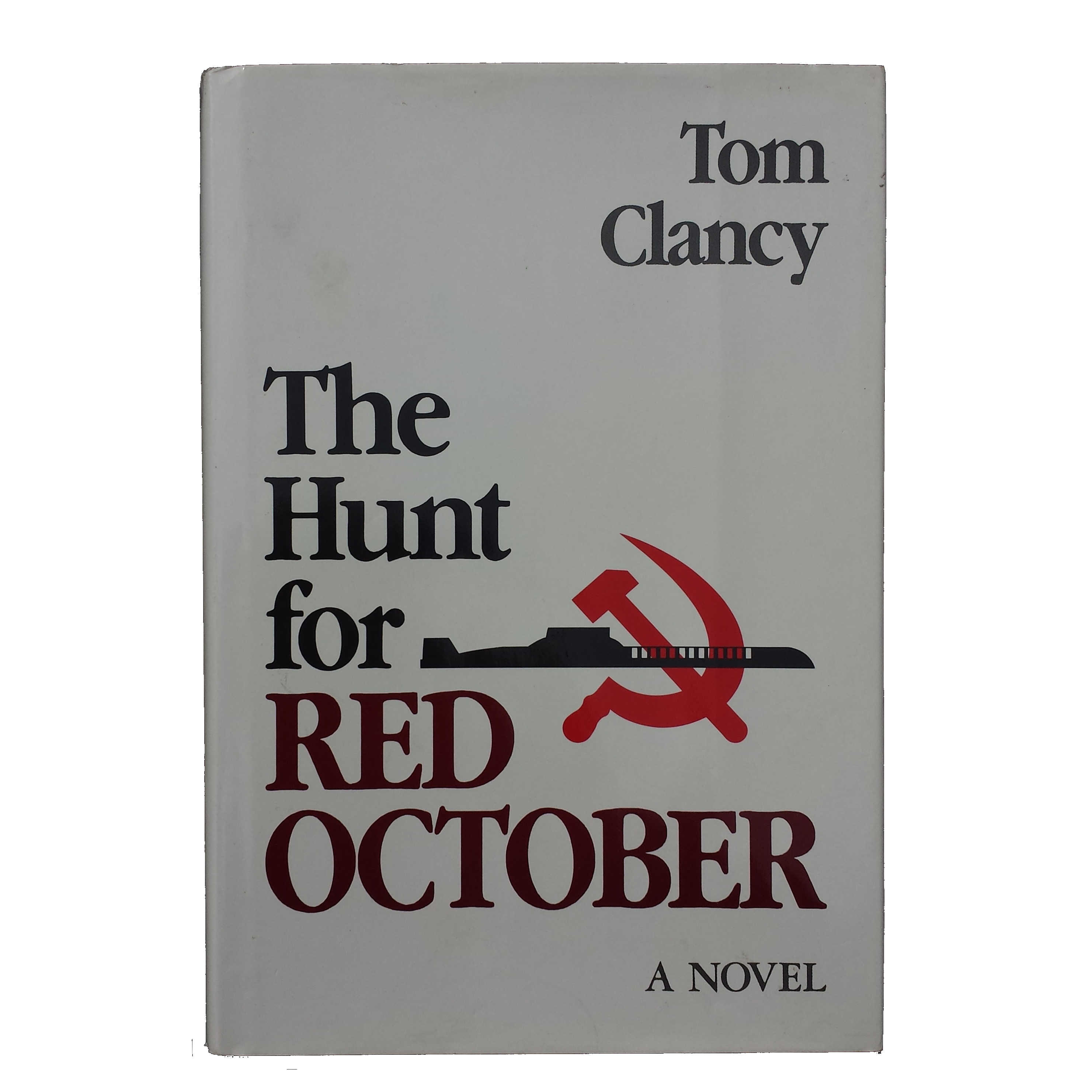 The Hunt for Red October (1985) Tom Clancy - Signed, 1st, 8th printing
