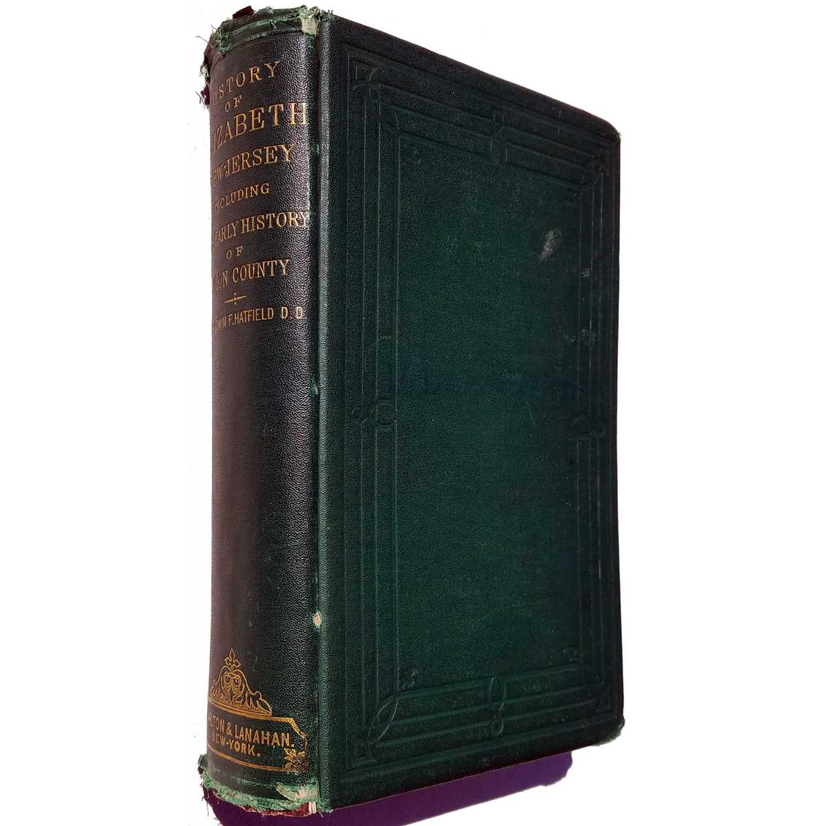 Hatfield (1868) History Of Elizabeth NJ