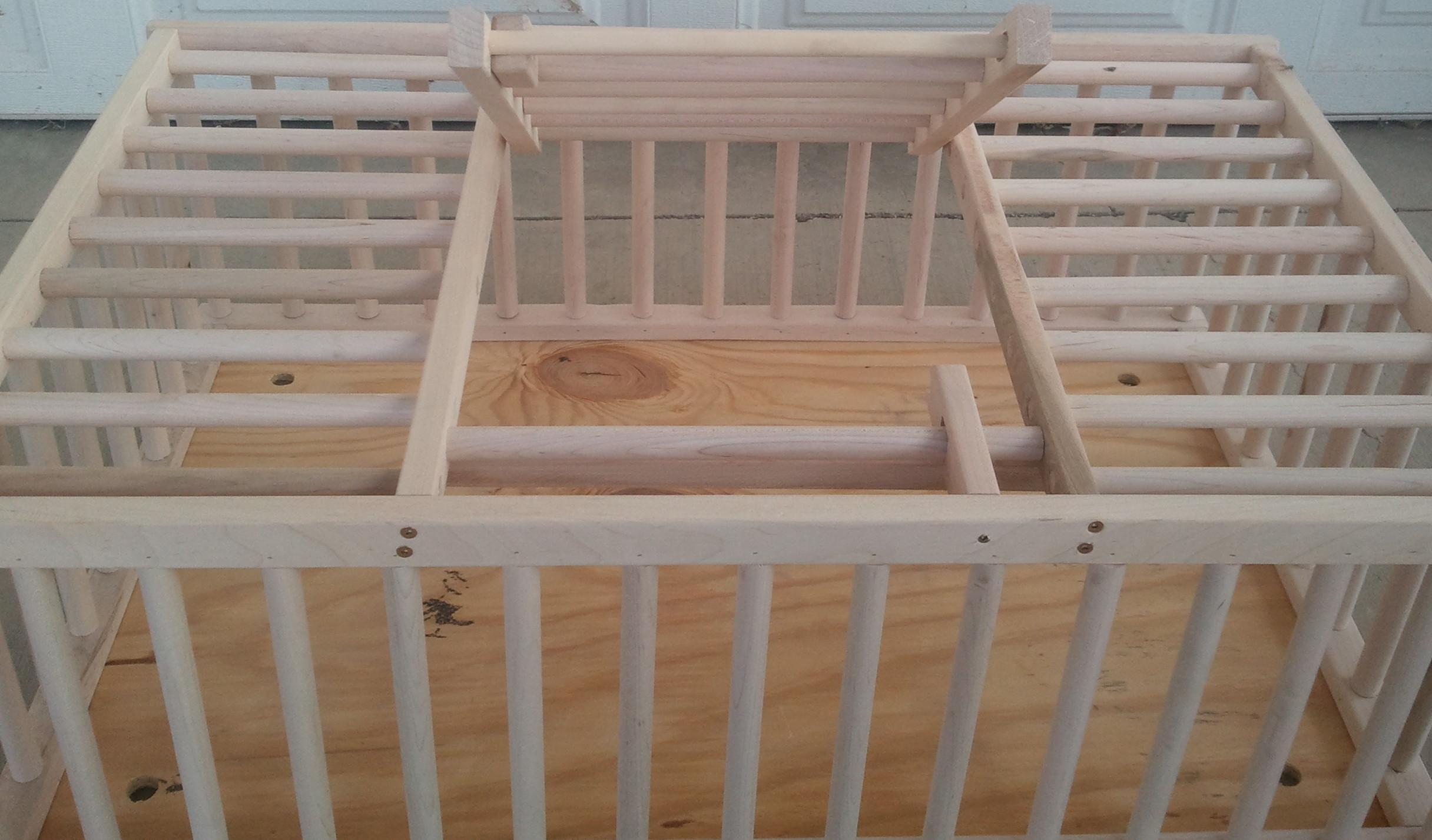 Wooden Chicken Crate Plans