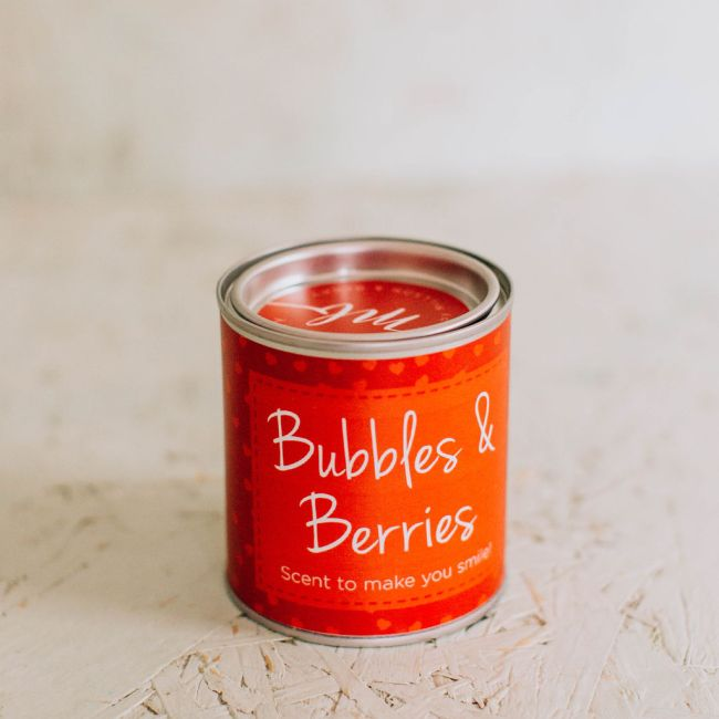 Bubbles & Berries Soy Candle