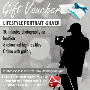 Portrait Gift Voucher Sunshine Coast