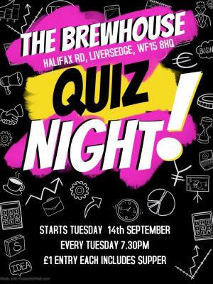 Brewhouse Quiz Night