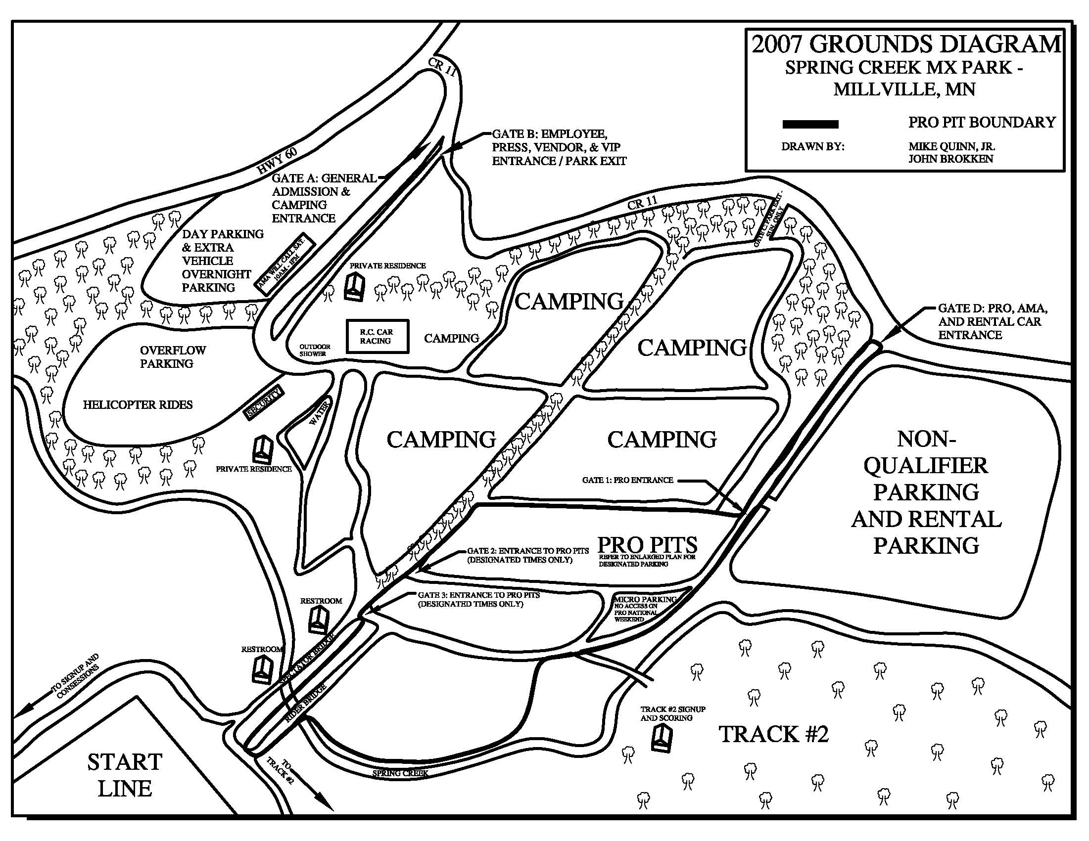 Springcreekmx Gt Facilities Diagram Amp Driving Directions