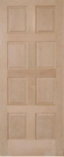 8 Panel Door : panel, PL-89, Modern, Panel, Interior, Door., Raised, Profiles