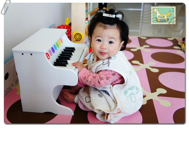 【好物分享】小小鋼琴家。法國Janod爵士木頭小鋼琴