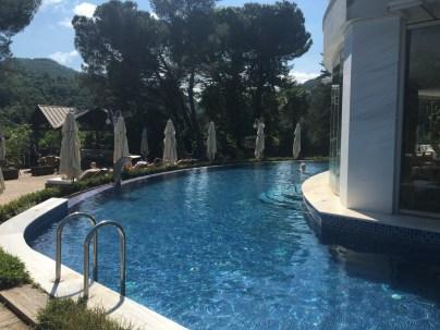 Gorgeous pool at Yalova