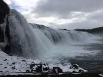 Faxifoss Waterfall
