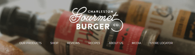 Charleston Gourmet Burger Logo